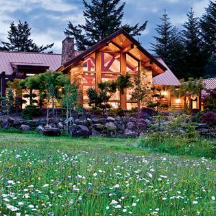 Timber Frame Vacation Homes