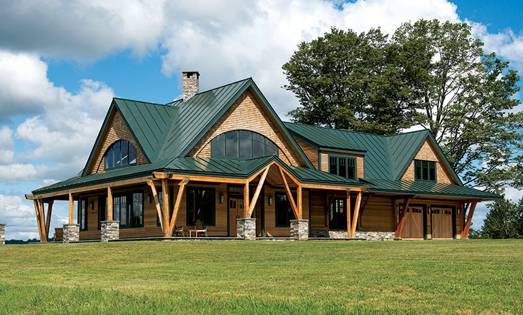 Open House: A Vermont Hillside Home