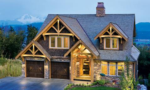Compact Hybrid Timber Frame Home Design
