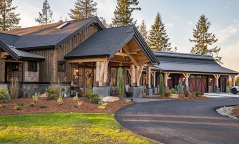 A Washington Timber Home is a Hybrid Haven