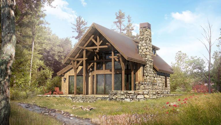 elk creek by colorado Timberframe